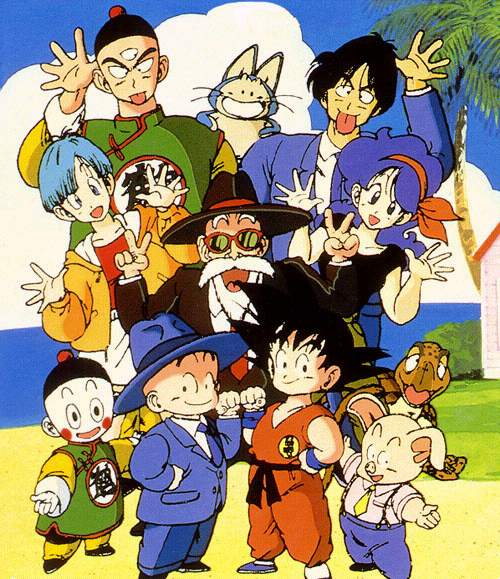 Dragon Ball Complete Series mulai dari Dragon Ball, Z, GT dan Movie
